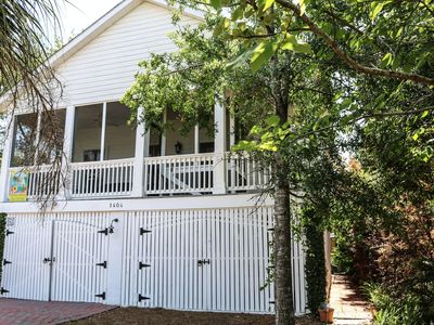 Photo for Pet Friendly Tybee Island Cottage with Hot Tub. 2 Bedroom & 2 Bath Private Home.