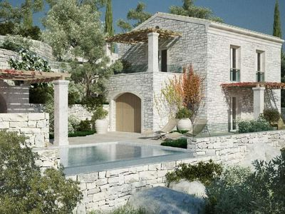 Photo for 2 bedroom Villa, sleeps 4 in Kavalleraina with Pool, Air Con and WiFi