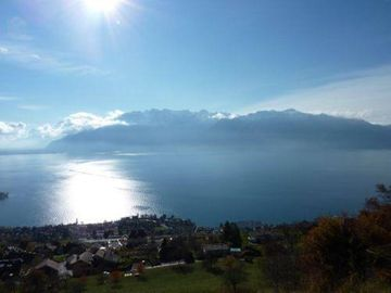 Chardonne: Panoramic apartment on lake and Riviera 1-4 persons Chardonne