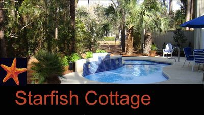 Photo for Bright, Open, Sea Pines Single Family Home - Private Pool/hot tub