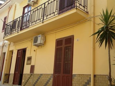 Photo for Apartment in the center of Balestrate with Internet, Air conditioning, Washing machine (560807)
