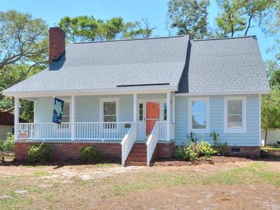 Photo for Absolutely Beautiful 3 BR/2.5 BA Beach Cottage-1 Minute to BEACH-PETS-Sleeps 8