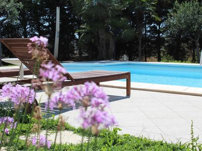 Photo for Deluxe Suite in Villa with Pool - Villa Orchidea B & B