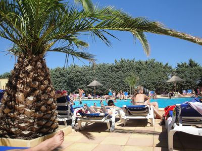 Photo for Quiet close to the sea and lake area, entertainment, swimming pool, Narbonne 5 km