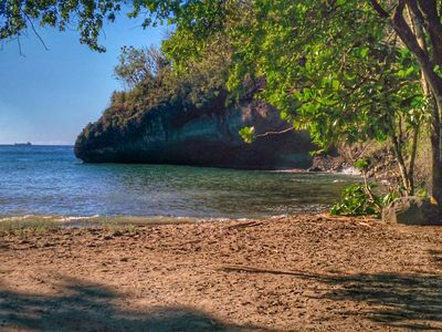 Photo for Entire villa with A/c In secluded cove In Marigot Bay overlooking the Caribbean