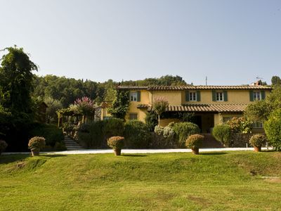 Photo for Tuscan Villa with A/C, WIFI  and private swimming pool