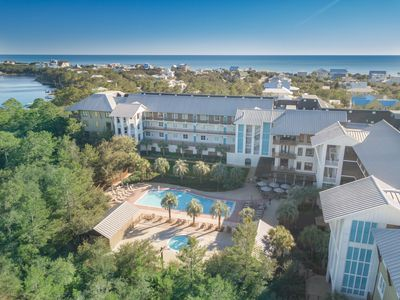 Photo for 30A Getaway 321 Redfish Village Pool View!