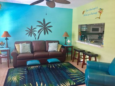 Photo for BEAUTIFULLY DECORATED BEACH CONDO! GREAT LOCATION!!