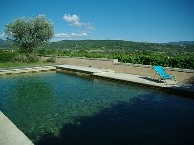 Photo for Beautiful farmhouse in the Luberon Vaucluse for 15 people