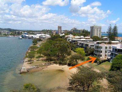 Photo for Luxurious 2 Bedroom Unit on the Canal and 100 Metres to the Beach in Mariner Cove
