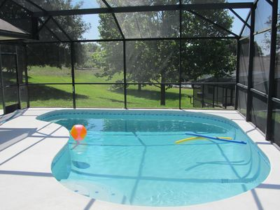 The beautiful pool, with all the sun you can get.