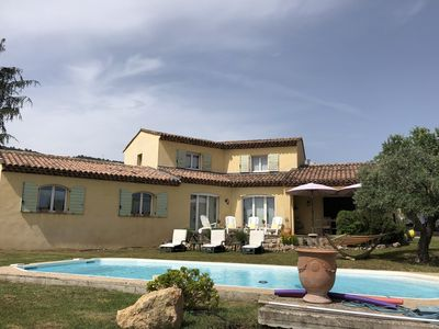 Photo for 180m2 contemporary villa with pool