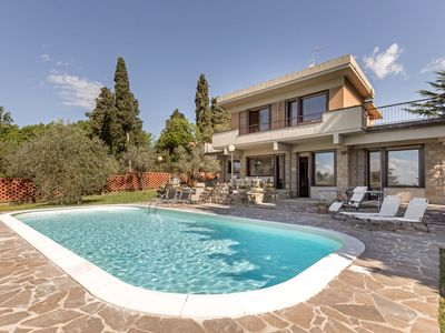Photo for Luxury Panoramic Villa with swimming pool in Florence - Tuscany