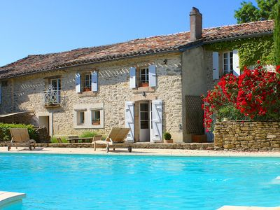 Photo for La Bomba Is A Stunning Farmhouse in Glorious Countryside With Private Pool.