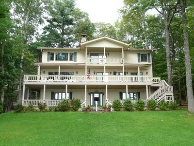 Photo for Outstanding Family Lakefront Home on Lake Toxaway