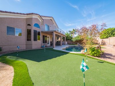 Photo for SCOTTSDALE DREAM HOME W/AMAZING OPEN CONCEPT+POOL+HOT TUB+PUTTING GRN+GAMEROOM