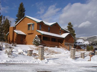 Photo for Gorgeous Alpine Home! Hot Tub, Spacious...Perfect Location close to 5 ski mts!