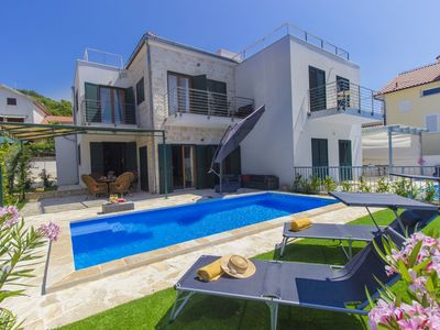 Photo for Villa Kornati with pool, 3 bedrooms and with a beautiful sea view