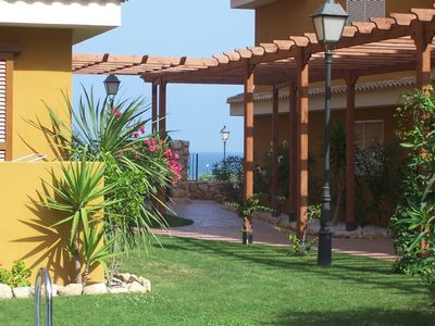 Photo for Luxury 2 bed apartment with large sun terrace, 3 pools, close to beach
