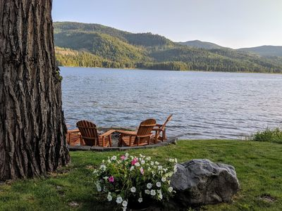 Photo for Waterfront Vacation Home on Twin Lakes