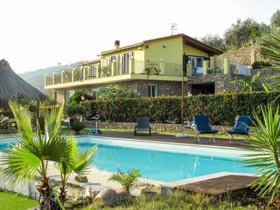 Photo for Torrazza Apartment, Sleeps 6 with Pool, Air Con and Free WiFi