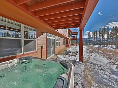 Photo for NEW!!  Discover Stunning Views with private Hot Tub in Rendezvous.
