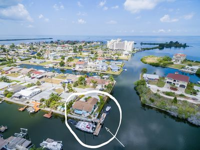 Photo for New listing! Waterfront, private dock, pets OK, swim spa, Kayak & paddle board.