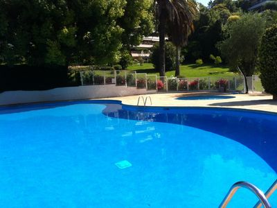Photo for CANNES low neighborhood California LUXURY T2 65M2, SWIMMING POOL, PARKING NEAR CROISETT