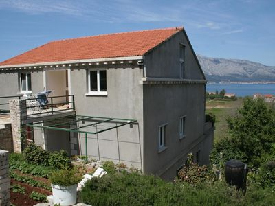 Photo for Apartment in Lumbarda (Korčula), capacity 6+2
