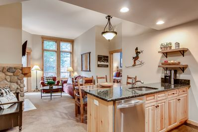 Beautifully updated, high ceilings