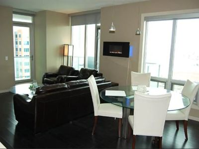 Photo for Luxury Downtown Condo Beside Stampede & Train