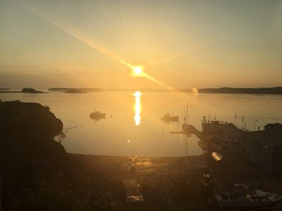 Photo for Eastport Waterfront ~ Sunrise Views Over Campobello