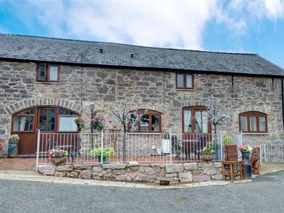 Photo for 2 Dolwen Farm Shop is one of two adjoining cottages in the courtyard of a working farm whose farm sh