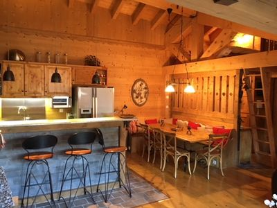 Photo for Cozy and spacious family apartment near the funicular to Les Arcs ski resort