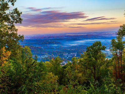 Photo for Breathtaking 100 Mile Mountain/City Views-5 Mins. to Pkwy in Pigeon Forge!