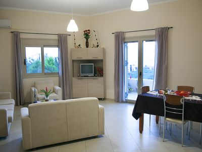 Photo for Rent An View-Apartment In Platanias Village For Less!
