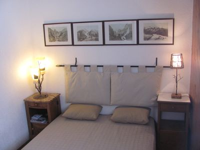 Photo for APARTMENT IN CHALET FOR 5 PEOPLE FACING MONT BLANC