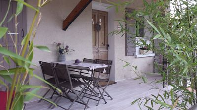 Photo for Annecy the old, ideally located, 2 rooms any comfort, terrace and garden.