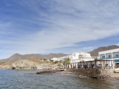 Photo for Natural Park Cabo de Gata in Andalusia La Isleta beachside