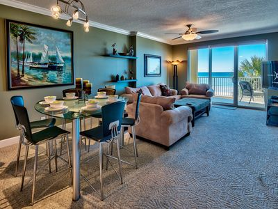Photo for UNIT 302! OPEN 4/20-27 ONLY $1512 TOTAL! 3RD FLOOR VIEWS! WOW INSIDE AND OUT!