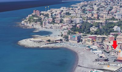Photo for Casa Tritone, 50m from the sea, 400m from the Gaslini, 10 min from the center