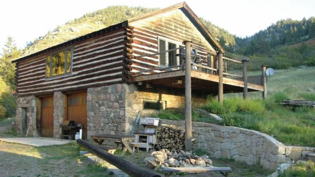 Secluded rustic cabin near denver conifer homeaway for Cabin rentals near denver colorado