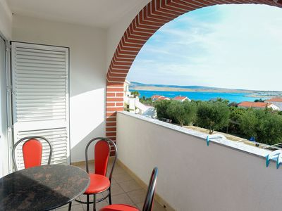 Photo for Apartment NB  SA8(2+2)  - Novalja, Island Pag, Croatia
