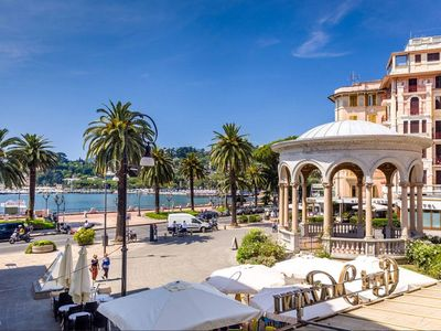 Photo for Mazzini in the heart of Rapallo with sea view