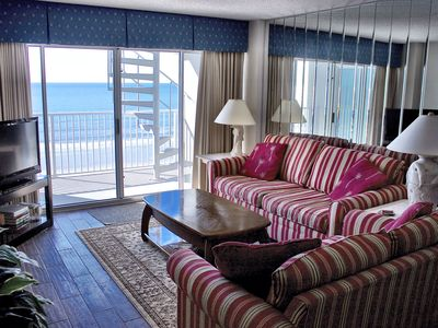 Photo for Ocean Front  2BR 2BA Best  View  on beach