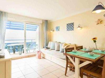 Photo for Residence Pierre & Vacances Bleu Marine - Superior Two-Room Apartment 3/4 People - Sea View