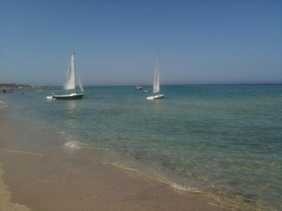 Photo for HOLIDAYS IN AQUARICA DI LECCE A FEW STEPS FROM THE SEA