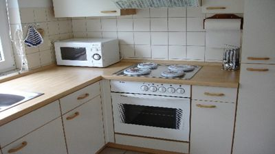 Photo for Cozy apartment for up to 6 people on the ground floor