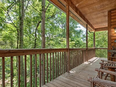 Photo for Secluded, Close to Downtown, Hot Tub, Fireplace, WiFi, Fenced Yard, Pet Friendly