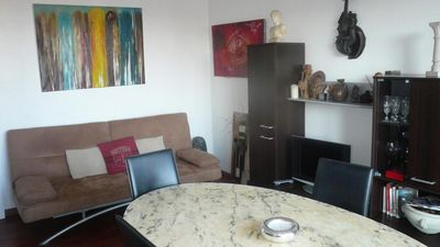 Photo for Cagnes sur Mer: apartment with wifi and parking in the city center but quiet
